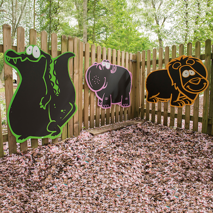 Jungle Themed Chalkboards Assorted 5pk  large
