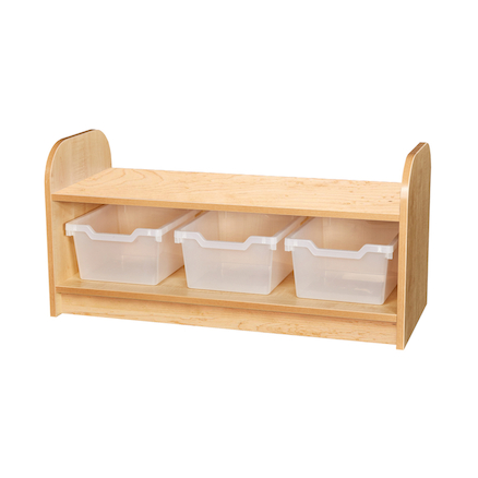 Kubbyclass Low Tray Unit with Back  large