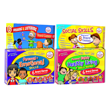 PSHE Board Games 24pk  medium