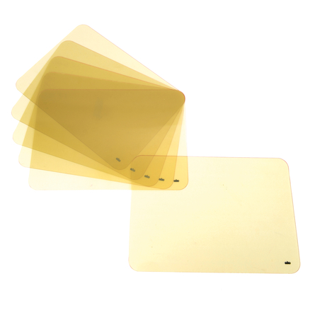 Tinted Transparent Plain Dry\-Wipe Boards  large