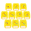 Write on Wipe Off Clock Dial 10pk  small