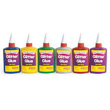 Glitter Glue 118ml 6pk  medium