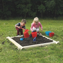 Wooden Mud Pit Frame  medium