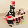 Toddler Wooden Pirate Ship  small