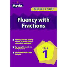 Fluency With Fractions Book  medium