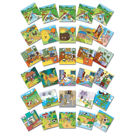 Traditional Tales Story Picture Cards 30pk  large