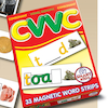 Double Sided CVVC Magnetic Word Strips 33pk  small