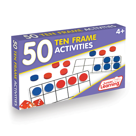 50 Ten Frame Activities  large