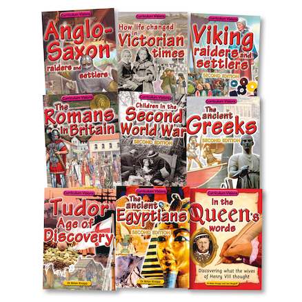 UKS2 History Curriculum Books 9pk  large