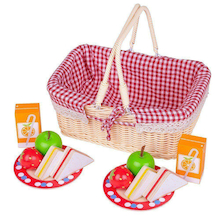 Role Play Picnic Basket and Accessories.  medium