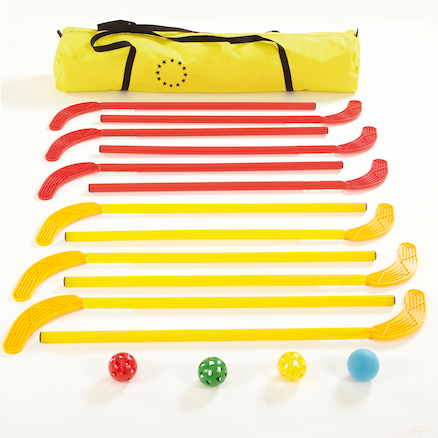 Junior Playground Hockey Complete Set Age 7 to 9  large
