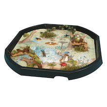 Active World Tuff Tray Woodland Mat  medium