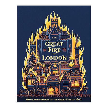 The Great Fire of London Book  large