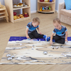 Small World Space Lunar Themed Play Mat  small