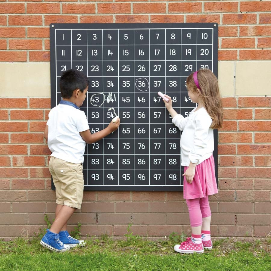 Outdoor Hundred Square Chalkboards Small · Outdoor Hundred Square  Chalkboards Small ...