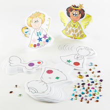 Precut Make An Angel Decorations 30pk  medium