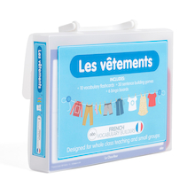 French Vocabulary Builders - Clothes  medium