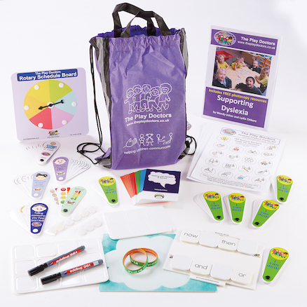 Dyslexia in the Classroom Kit in a bag  large