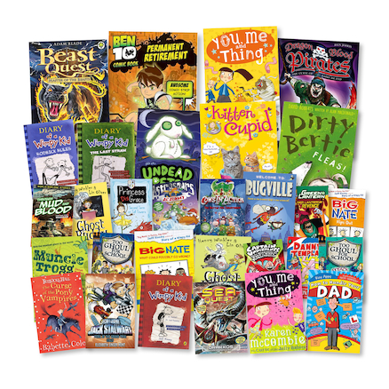 Reluctant Readers Book Packs KS2 30pk  large