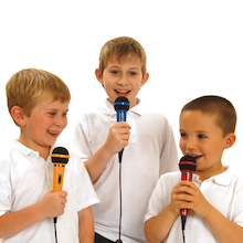 Microphones 5pk  medium