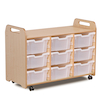 Millhouse Three Column Tray Storage  small
