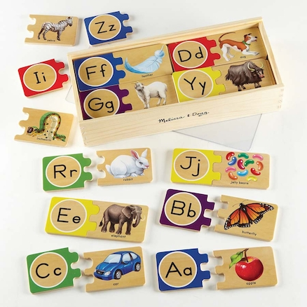 Self Correcting Wooden Jigsaw Puzzle Numbers  large