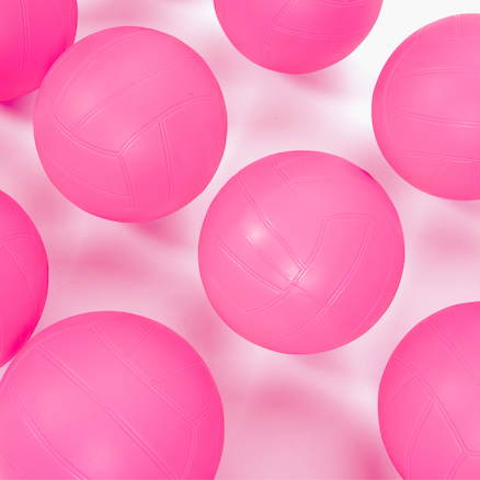 Pink Non Sting Playballs 12pk  large