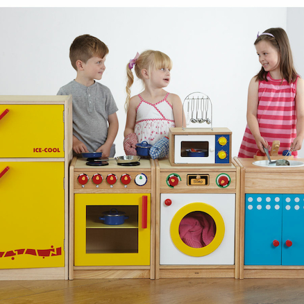 Role Play Wooden Kitchen Set  large