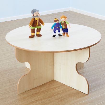 Round Indoor Table for Early Years  large