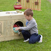 Outdoor Wooden Role Play Kitchen Centre  small