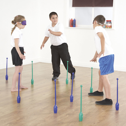 Blindfold\/Skittle Game Team Building Game  large