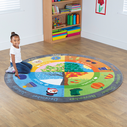 Seasons Mat Circle 2 x 2m  large