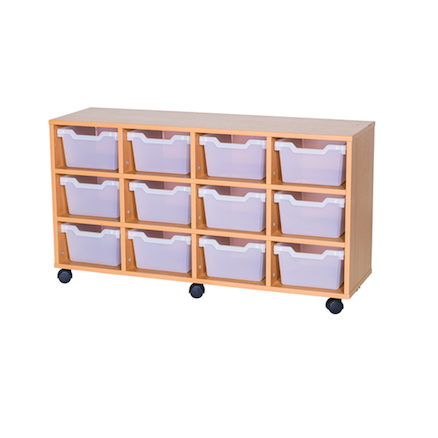 12 Cubby Tray Unit H650mm  large