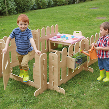 Outdoor Wooden Role Play Fencing  medium