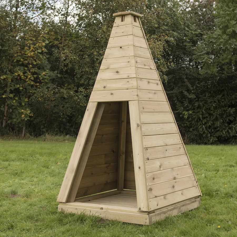 Buy Outdoor Wooden Teepee Tts