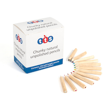 TTS Half Length Chunky Pencil & 10 FREE Sharpeners  medium