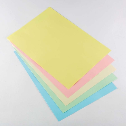 Assorted A4 Coloured Copier Paper 80gsm 5pk  large