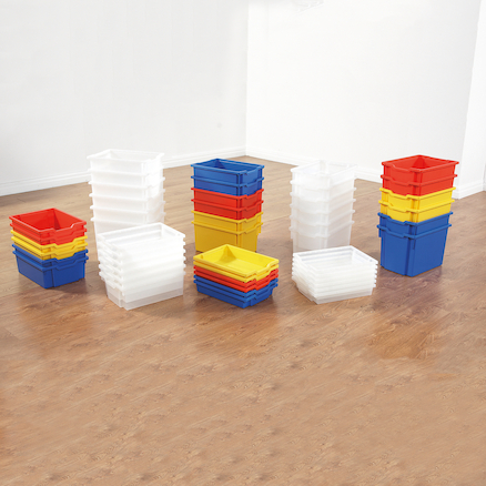 Gratnells Storage Trays 6 Pack  large