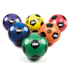 6 Colour Rubber Nylon Wound Footballs Size 4 6pk  small
