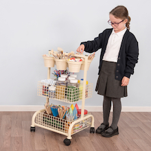 Mini Metal Craft Trolley  medium