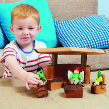 Woodland Wooden Small World Furniture  medium
