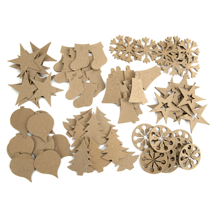 Ready to Decorate Christmas Tree Decorations 80pk  large