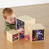 Wooden Mirror Boxes 3pk  small
