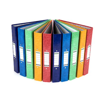 Gloss Ring Binders 10pk Multi  large