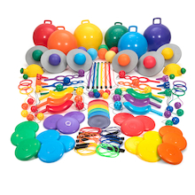 Rainbow Playground Equipment Kit  medium
