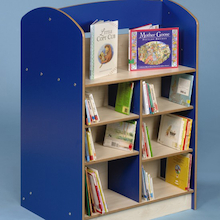 Double Sided Bookcase Height 1200mm  medium