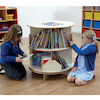 Two Level Rotating Book Centre D75 x H82cm  small