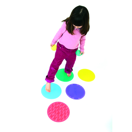 Sillishapes Sensory Circle Set 10pk  large
