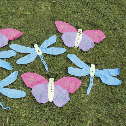 Number Butterflies and Dragonflies 10pk  large