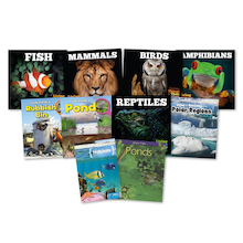 KS1 Animal Habitats Books 10pk  medium